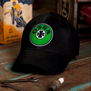 Ossa Vintage Motorcycle Hat Cap Embroidered - NEW